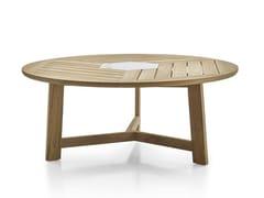 Tavolo da giardino rotondo in teak GINESTRA | Tavolo rotondo - Ginestra