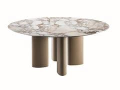Tavolo rotondo in marmoARNE | Tavolo rotondo - CASAMILANO