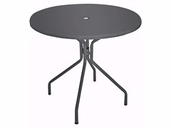 Tavolo rotondo in lamiera SOLID | Tavolo rotondo - Solid