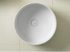 Lavabo rotondo in Ceramilux® GLAZE | Lavabo rotondo -