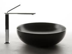 Lavabo da appoggio rotondo singolo in ceramicaPOD | Lavabo rotondo - VALDAMA