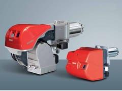 Bruciatore di gas bistadio progressivo o modulanti RS 25-200/E BLU - Bruciatori