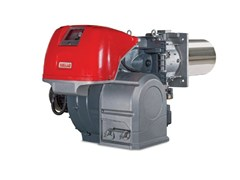 Bruciatore di gas bistadio progressivo o modulante RS 310-610/M BLU - Bruciatori