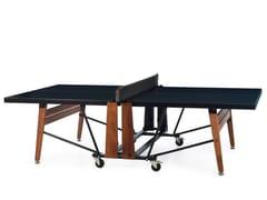 Tavolo da ping pong rettangolare con ruoteRS FOLDING - RS BARCELONA