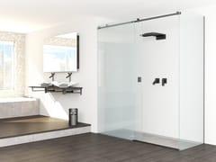 Box doccia rettangolare in vetro con porta scorrevoleRSZ - GH ITALY