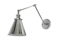 Applique a luce diretta in metallo con braccio flessibileRUBI | Applique con braccio flessibile - ARREDIORG