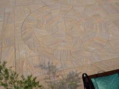 Pavimento per esterni carrabile in pietra naturaleRUFINA MIRAGE ELEGANCE CIRCLE - STONE AGE PVT. LTD.