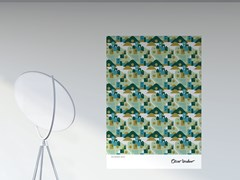 Artwork adesivo riposizionabile in pvcRURAL | Poster - PPPATTERN