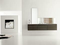 Sistema bagno componibile RUSH - COMPOSIZIONE 6 - Rush