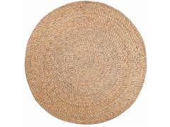 Tappeto rotondo in fibre vegetaliRUSHY - VIVARAISE
