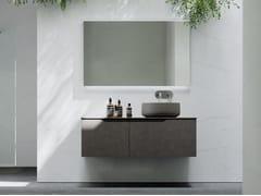 Mobile lavabo sospeso in legno con cassettiRUSTECH RT07 - ARTEBA