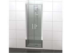Ideal Standard, CONNECT 2 - S Box doccia a nicchia in vetro temperato con porta a battente