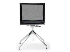 Sedia ufficio ad altezza regolabile in polipropilene a 4 razzeS'MESH SOFT | Sedia ufficio a 4 razze - DIEMMEBI