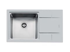 Lavello da incasso in acciaio inox con gocciolatoioS4000 - 4383 05X - FOSTER
