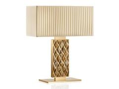 Lampada da tavolo in ottone placcato oro 24kSABA 1722 - ARCAHORN