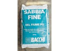 Sabbia di fiumeSABBIA FINE - BACCHI
