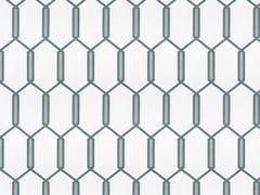 Carta da parati geometrica in tessuto non tessutoSACRAMENTO - GANCEDO