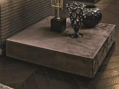 Tavolino quadrato in pelle SAFIR   Tavolino in pelle - Loveluxe - Royal