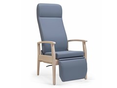 Poltrona reclinabile in tessuto con poggiapiediSAGRES HIGH RP CB - FENABEL - THE HEART OF SEATING