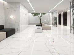 Pavimento/rivestimento in porcellana effetto marmoSAHARA BIANCO - ITT CERAMIC
