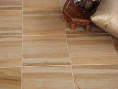Pavimento/rivestimento in pietra naturale per interniSAHARA GOLD HONED LIMESTONE - STONE AGE PVT. LTD.
