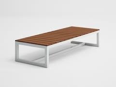 Tavolino da giardino rettangolare in teak SALER SOFT TEAK | Tavolino rettangolare - Saler Soft Teak