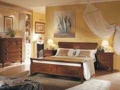 Letto matrimoniale in legno massello SALIERI | Letto in legno massello - Salieri