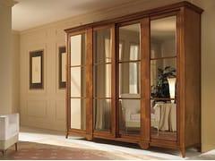 Armadio in legno massello con specchio SALIERI | Armadio - Salieri