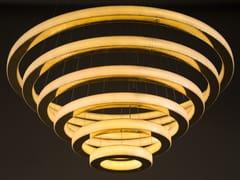 Lampada a sospensione a LED in metallo con dimmerSALO TASO - CAMERON DESIGN HOUSE