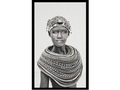 Quadro in poliestereSAMBURU GIRL B/W - MONDIART INTERNATIONAL