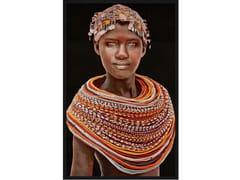 Quadro in poliestereSAMBURU GIRL   Quadro in tessuto - MONDIART INTERNATIONAL