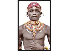 Quadro in poliestereSAMBURU MAN   Quadro in tessuto - MONDIART INTERNATIONAL