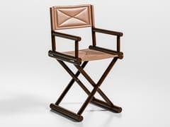 Sedia regista in cuoioSAN BABILA | Sedia in cuoio - CAROTI & CO.