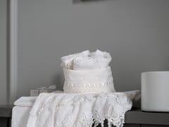 LA FABBRICA DEL LINO, SANGALLO Cestino e lavette in lino