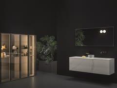 Mobile lavabo sospeso con specchioSANTA CROCE - NOVELLO