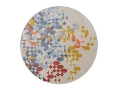 Tappeto rotondo Jacquard stampato a tessituraSAPORE DI MARE NEW | Tappeto rotondo - MEMEDESIGN