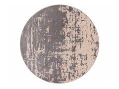 Tappeto rotondo Jacquard stampato a tessituraSAPORE DI VANIGLIA NEW | Tappeto rotondo - MEMEDESIGN