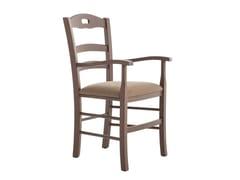 Sedia in faggio con braccioliSAVOY 42BP.i1 - PALMA