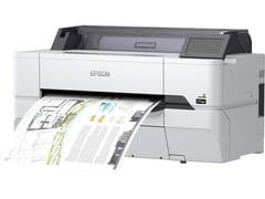 EPSON ITALIA, SureColor SC-T3400 (N) Stampante di grande formato per disegni CAD e mappe GIS