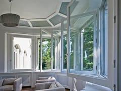 Finestra a battente a taglio termico in legno SC80-100 | Finestra a battente -
