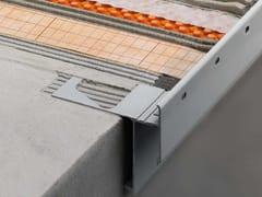 Schlüter-Systems, Schlüter®-BARA-RAKE Profilo di chiusura per balconi e terrazzi con gocciolatoio