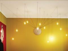Lampada a sospensione a LED in vetro borosilicatoSCIAME SIGARETTA - ALBUM ITALIA