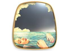 Specchio con cornice da pareteSEA GIRL | Specchio - SELETTI