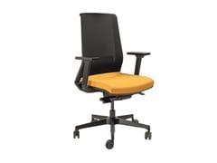 Sedia ufficio ad altezza regolabile in rete con braccioliSEATTLE | Sedia ufficio - AP FACTOR
