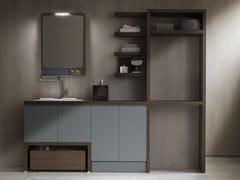 Mobile lavanderia a colonna per lavatriceHITO | Mobile lavanderia a colonna - ARBLU