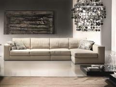 Divano componibile in tessuto con chaise longueHERMES | Divano componibile - FORMER IN ITALIA