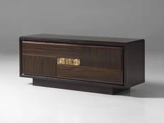 Mobile TV basso in legno con cassettiSEGRETI S1290 | Mobile TV - ARTE BROTTO MOBILI