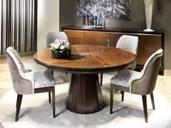 Tavolo rotondo in legnoSEGRETI S693 | Tavolo - ARTE BROTTO MOBILI