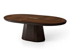 Tavolo ovale in legnoSEGRETI S694 | Tavolo - ARTE BROTTO MOBILI