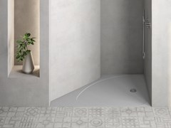 Piatto doccia angolare semicircolareSELECT | Piatto doccia angolare - ABSARA INDUSTRIAL